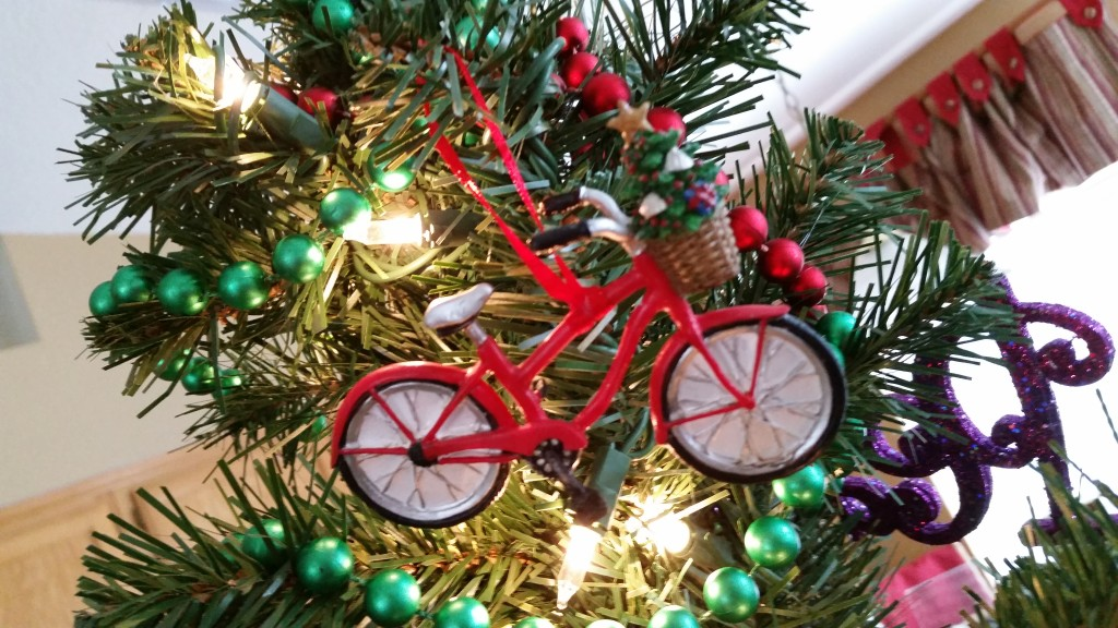 Bike ornaments, of course!