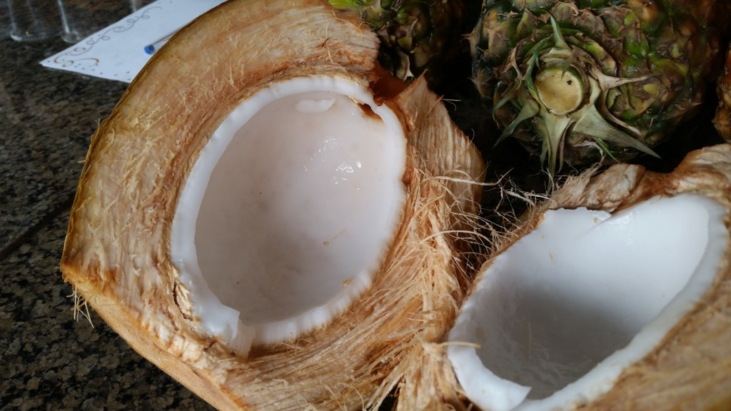 Fresh coconut ... o.m.g.