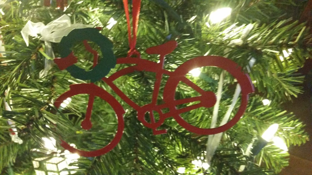 ... and more bicycle ornaments!